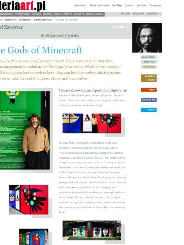 THE GODS OF MINDCRAFT (OUTDOOR EXHIBITION) GALLERY ART 2020