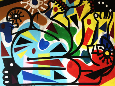 ELEMENTS OF MYHOLOGY: THE BIRTH OF ORPHEUS 120X100CM (2020)