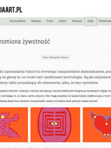 NIEPOSKROMIONA ŻYWOTNOŚĆ, Gallery ART 2021